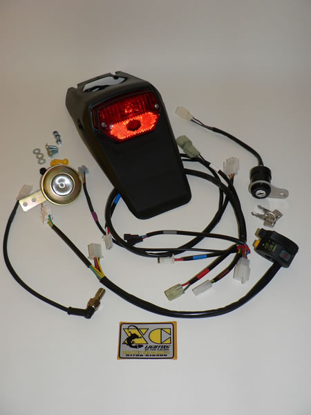 honda crf250 450x enduro motocross xc lighting kits stock xc kit to fit honda crf250 450x